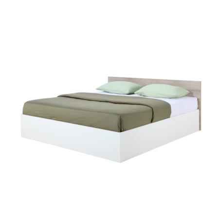 เตียงนอน รุ่น วินซ์ ขนาด 5 ฟุต - ลายไม้ธรรมชาติ