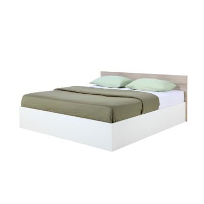 เตียงนอน รุ่น วินซ์ ขนาด 6 ฟุต - ลายไม้ธรรมชาติ